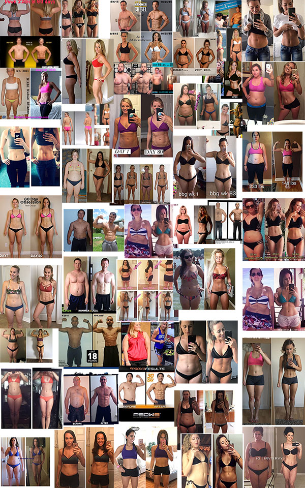 Beachbody Total Body Transformations